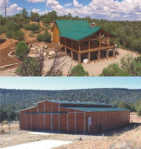 Gentleman's Ranch with Celebrity Cabin on 97 Acres
